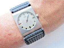 Rare Bruno Ninaber Moma Van Eyben Titanium New Rubber Band Quartz Men's Watch