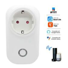 EU WIFI Smart Power Plug Tuya APP Sockets Timer Function For Google Home Alexa