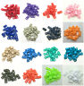 "10 50 100pcs 3/8"" 10mm Curved Side Release Plastic Buckle for Paracord Bracelet"