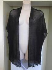 NEW..Stylish Plus Size Black Cardi Jacket Kimino One Size will Fit 16-24