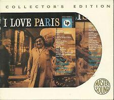 Legrand, Michel I love paris Gold CD MASTER sound sbm avec slipcase