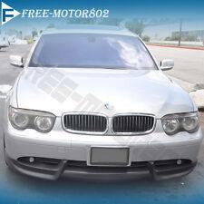 For 02-05 BMW 7-Series E65 E66 750 760 Front Bumper Lip Spoiler Bodykit PU ACS