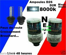 2 Ampoules Blanc Xenon D2S D2R 35W 8000K NEUF Peugeot 607 4007 NEUF