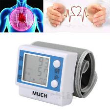 Digital Automatic Wrist Cuff Blood Pressure Monitor Heart Beat Pulse Rate Meter
