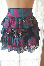 VINTAGE Style ~ SUPRE  ~ Tiered Mini SKIRT * Size M * SALE !!