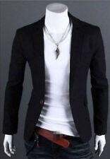 New Stylish Men's Casual Slim Fit One Button Suit Blazer Coat Jacket Tops M