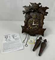Kendal MX313 Handcrafted Wood Cuckoo Clock PARTS ONLY NEW OPEN BOX