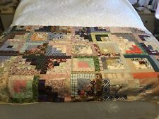 More details for vintage quilted bed runner hand made good condition