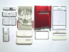 White Full Housing Facia Fascia Cover Case for nokia 3250 white Faceplate