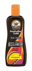Australian Gold DARK TANNING ACCELERATOR Tanning Lotion 8.5oz