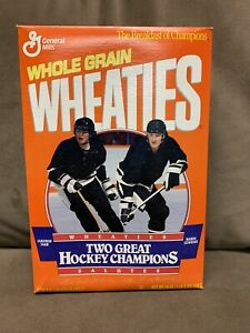 "Wheaties Box Two Great Champions Jaromir Jagr Mario Lemieux ""Unopened"""