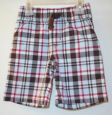 New Gymboree Rescue Team Plaid Shorts ~ Boy's Size 2T