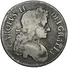 More details for 1680 crown - charles ii british silver coin