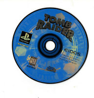 Tomb Raider Sony PlayStation PS1 Disc Only Black Label SLUS-00152