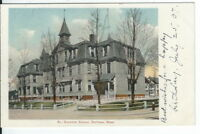 CG-065 MA, So. Grammar School, Waltham Undivided Back Postcard Massachusetts