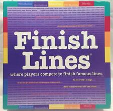 Finish Lines Game- Where Players Compete to Finish Famous Quotes-     #500