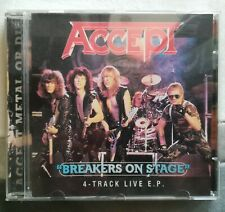 ACCEPT Breakers on Stage 4 Track live EP GR