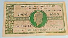 1000 francs Dulac 1945 ND