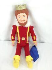 Vintage Burger King 1980 King Plush Doll