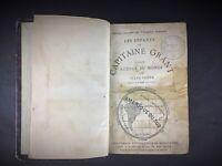 """Rare ancien livre Jules Verne """"Les enfants du capitaine Grant"""" 26ième édition"""