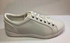 Mens Shoes - L.L. BEAN - white CANVAS deck/sneakers SHOES - size 9 - new