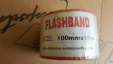 Quick Roof Flashband Instant Self-Adhesive Roof Repair 4 inch by 33ft aluminium