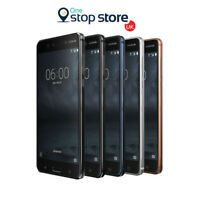 Nokia 6 LTE 4G 3GB RAM 32GB Storage Unlocked Android Smartphone Black Blue White