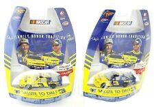 Winner's Circle 2010 NASCAR #3 Salute To Dale Earnhardt Sr. & Jr. Set Of 2 Cars