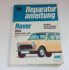 Reparaturanleitung 306 Rover Mini 850, 1000, Clubmann 1000/1100, 1275 GT 1976-79