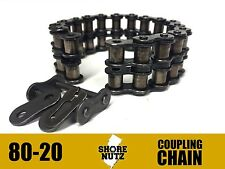 8020 Coupling Chain 8020CC C80-20 8020CHN DODGE REXNORD BROWNING MARTIN DROP IN