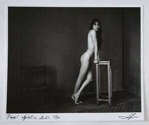 Slim girl by Pavel Apletin, pigment print signed limited edition female fine art