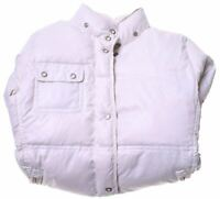 CHAMPION Girls Padded Jacket 11-12 Years Large White Vintage FO03