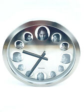 Karlsson Wall Clock - Each Number Is A Picture Frame 15.5 inches round