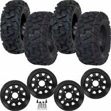 4 New Ocelot Atacama Tires on Itp Delta Wheels - Honda Pioneer 500 / 700 '14-17