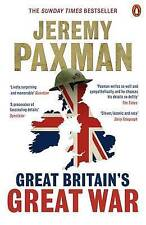 Great Britain's Great War, Paxman, Jeremy, New condition, Book