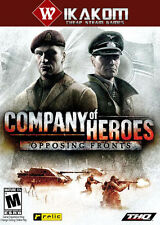 Company of Heroes: opposing fronts vapeur Digital NO DISC/box ** LIVRAISON RAPIDE! **