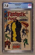 Fantastic Four #67 CGC 7.0 1967 1463407004 1st app. Him (Warlock)