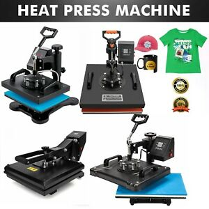 Hitzepresse Maschine Transfer T-Shirt Becher Transferpresse Textildruck Digital