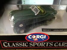 CORGI CLASSICS 96041 -- JAGUAR XK120 OPEN TOP  - BRITISH RACING GREEN