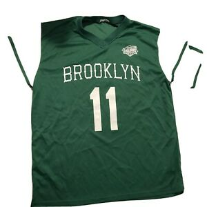 Brooklyn Cyclones Men's New York Jets Theme Jersey Green NY Mets affiliate L/XL