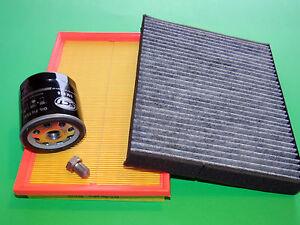 kl. Inspektionspaket Filterset Seat Ibiza 6L 1.4 16V 55kW/75PS & 74kW/101PS
