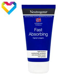 Neutrogena Hand Cream FAST ABSORBING Light Texture Non-Greasy 75ml