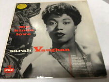 Sarah Vaughan - My Kinda Love (Vinyl LP 1955 MGM Records E3274)