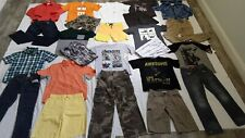 HUGE BOY lot/ 25 Size 10/12 School Summer/Fall Clothing Outfits, Wonder Nation++