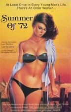SUMMER OF '72 Movie POSTER 27x40 Lisa De Leeuw Tara Aire Lori Sanders Brigette