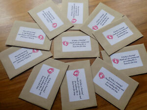 10x girl baby shower party favours a beau-tea-ful day.
