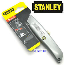 Genuine Stanley 99E Classic Retractable Trimming KNIFE HANDLE ONLY (NO BLADES)