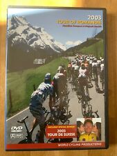 2003 Tour of Romandie World Cycling Productions 2 Dvd Tyler Hamilton