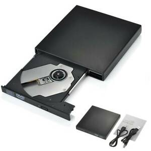 USB2.0 External DVD CD Disc Burner Combo Drive Reader Windows 07/08/10 Laptop PC