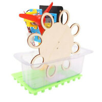 DIY Automatic Electric Bubble Machine Kids Children Science Educational Toy